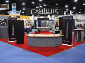 Camillus booth at 2009 Shot Show