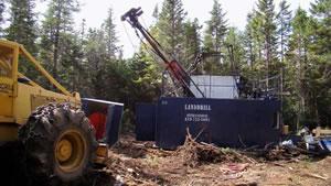 Drilling at Mooseland
