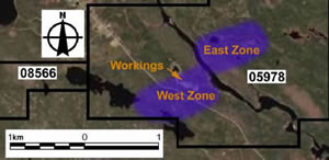 West And East Zones At Mooseland