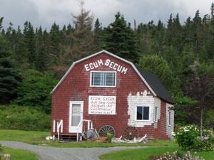 Ecum Secum means a red house