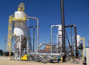 The Greensteam demonstration plant