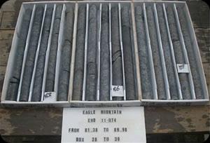 Eagle Mountain drill core
