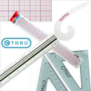 C-Thru Ruler line of products
