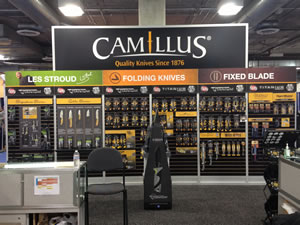 The Camillus booth at the 2013 SHOT Show