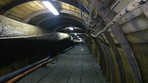 The tunnel at Level 6