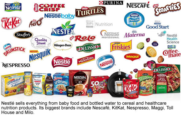 history of nestle foods and the History of nestl é the farine lactée as the leading food, nutrition, health and wellness company.