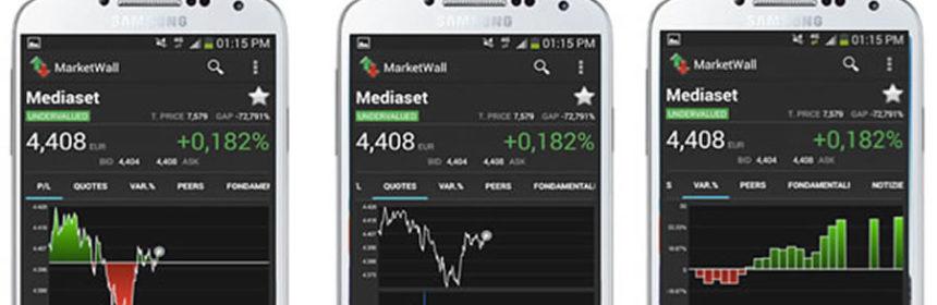 AnalytixInsight Marketwall on smartphone