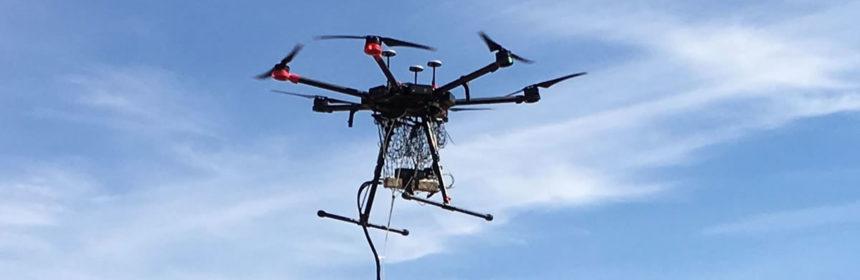 Globex Mining Braunsdorf drone survey