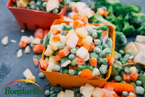 Bonduelle frozen vegetables