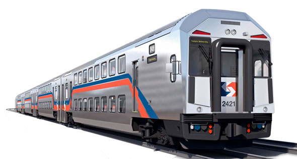 SEPTA multi-level train