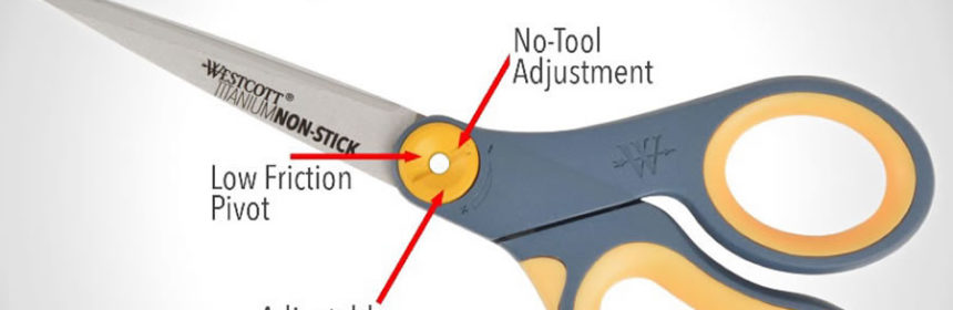 Acme United Westcott Glide scissors