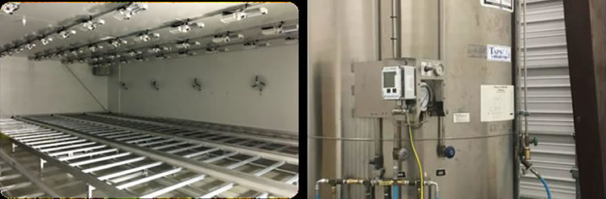 Installed equipment in facility A