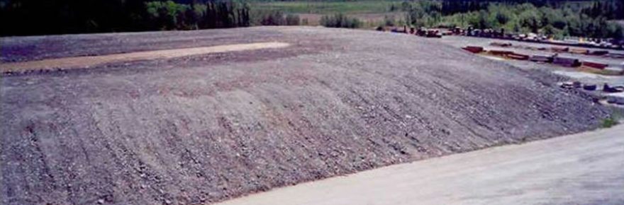 BacTech Snow Lake project stockpile