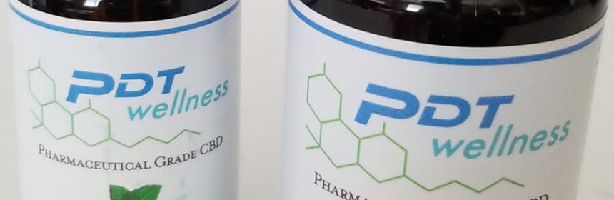 Preferred Dental PDT Wellness CBD bottles