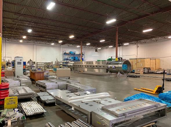 EnWave sicherte sich zusätzliche 21.000 Quadratmeter Industriefläche. Mit der neuen Anlage hat EnWave jetzt eine Gesamtfläche von ca. 45.000 m² mit zusätzlicher Kapazität für zukünftiges Wachstum.