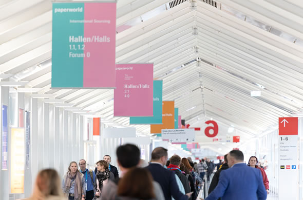 Paperwold Messe mit Acme Stand